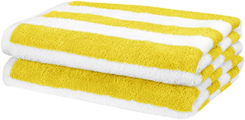 Description de l'Amazon Basics 2-pack de serviettes de plage